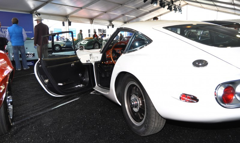 Gooding Pebble Beach 2014 - 1967 Toyota 2000GT in White with Original, US-Delivered Left-Hand-Drive 21