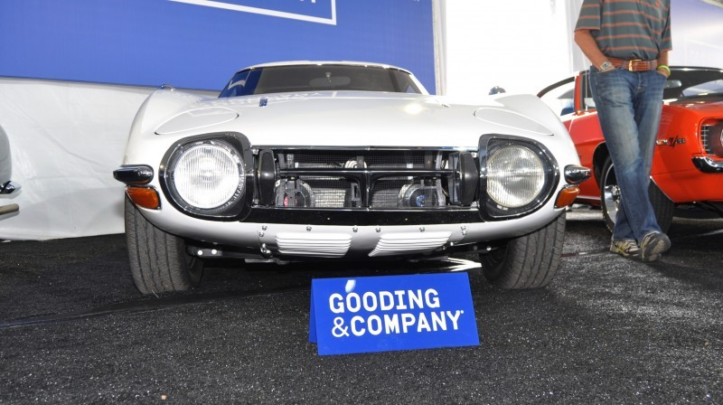 Gooding Pebble Beach 2014 - 1967 Toyota 2000GT in White with Original, US-Delivered Left-Hand-Drive 3