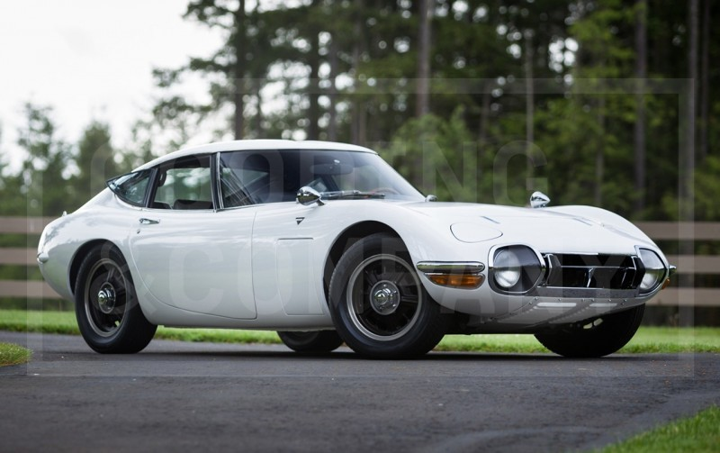 Gooding Pebble Beach 2014 - 1967 Toyota 2000GT in White with Original, US-Delivered Left-Hand-Drive 433
