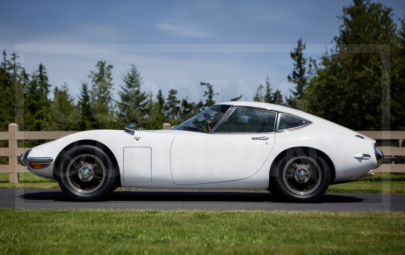 Gooding Pebble Beach 2014 - 1967 Toyota 2000GT in White with Original, US-Delivered Left-Hand-Drive 435