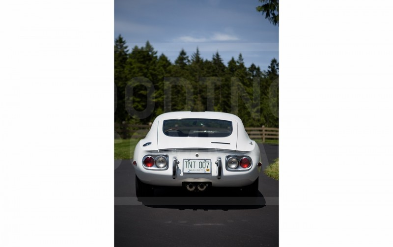 Gooding Pebble Beach 2014 - 1967 Toyota 2000GT in White with Original, US-Delivered Left-Hand-Drive 436