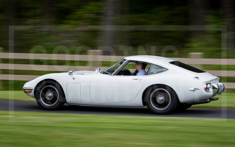 Gooding Pebble Beach 2014 - 1967 Toyota 2000GT in White with Original, US-Delivered Left-Hand-Drive 437