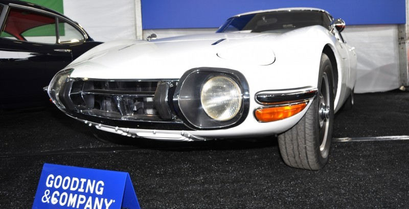 Gooding Pebble Beach 2014 - 1967 Toyota 2000GT in White with Original, US-Delivered Left-Hand-Drive 6
