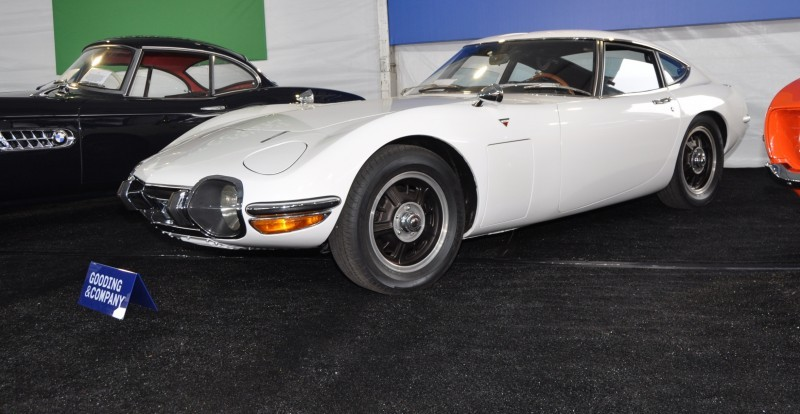 Gooding Pebble Beach 2014 - 1967 Toyota 2000GT in White with Original, US-Delivered Left-Hand-Drive 8