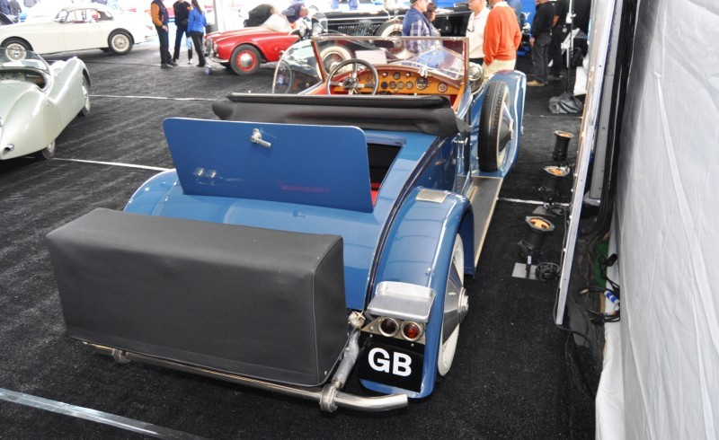 Gooding Pebble Beach 2014 Highlights - 1926 Rolls-Royce Silver Ghost Playboy Roadster 18