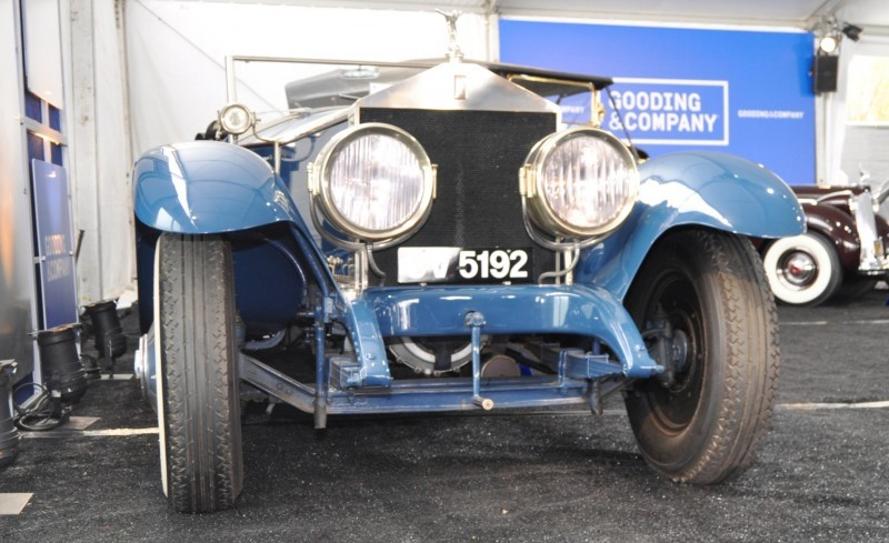 Gooding Pebble Beach 2014 Highlights - 1926 Rolls-Royce Silver Ghost Playboy Roadster 25
