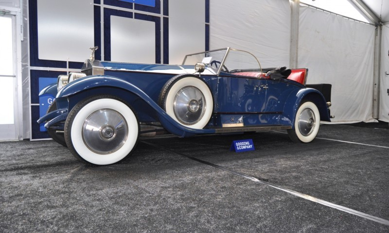 Gooding Pebble Beach 2014 Highlights - 1926 Rolls-Royce Silver Ghost Playboy Roadster 30