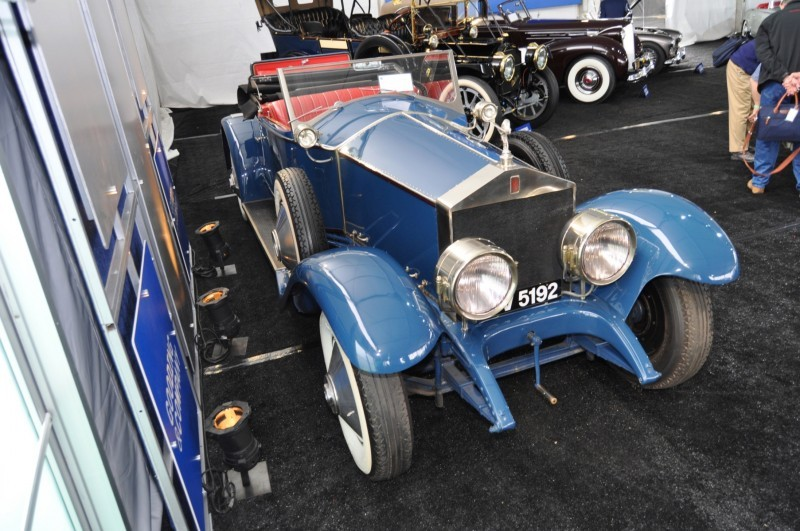 Gooding Pebble Beach 2014 Highlights - 1926 Rolls-Royce Silver Ghost Playboy Roadster 31