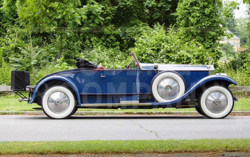 Gooding Pebble Beach 2014 Highlights - 1926 Rolls-Royce Silver Ghost Playboy Roadster 4