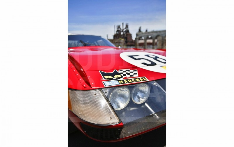 Gooding Pebble Beach 2014 Highlights - 1969 Ferrari 365 GTB4 Daytona Competizione 11