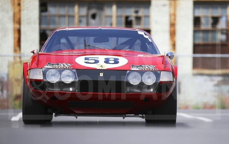Gooding Pebble Beach 2014 Highlights - 1969 Ferrari 365 GTB4 Daytona Competizione 3