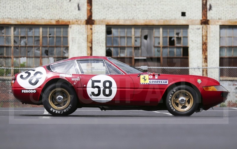 Gooding Pebble Beach 2014 Highlights - 1969 Ferrari 365 GTB4 Daytona Competizione 4