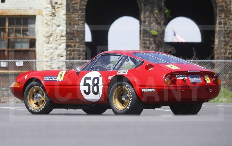 Gooding Pebble Beach 2014 Highlights - 1969 Ferrari 365 GTB4 Daytona Competizione 5