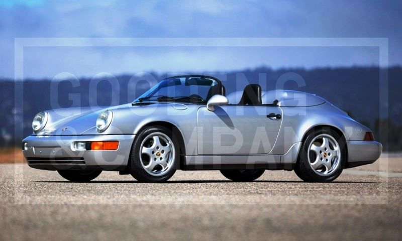 Gooding Pebble Beach 2014 Preview - 1994 Porsche 911 Carrera 3.6 Speedster 1