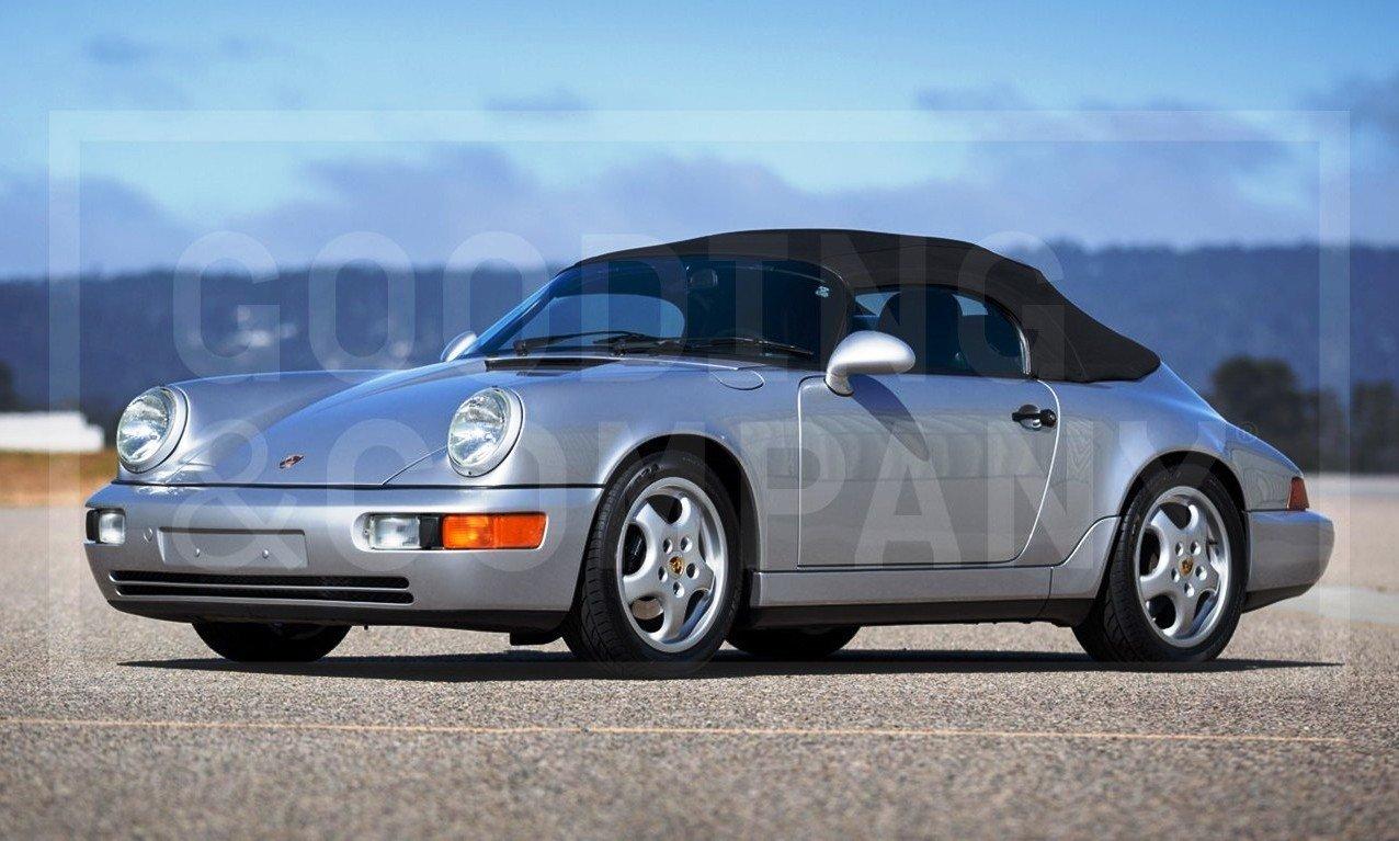 Gooding Pebble Beach 2014 Preview - 1994 Porsche 911 Carrera 3