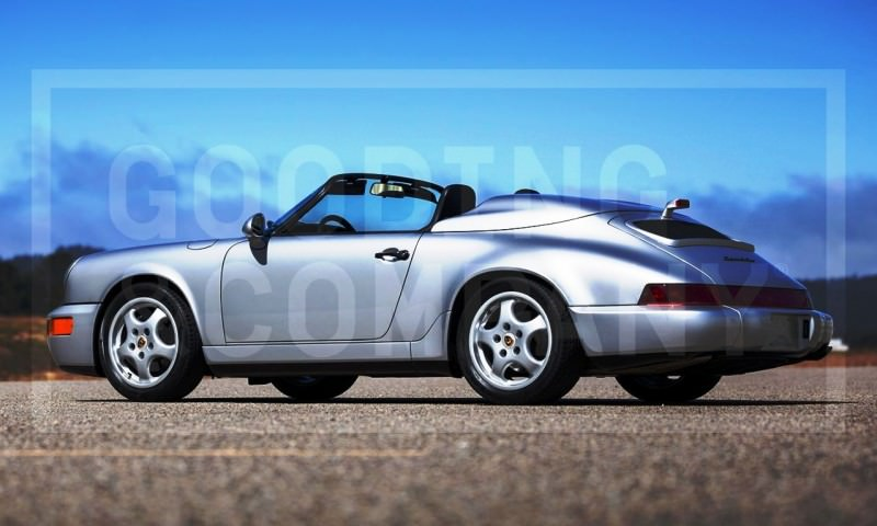 Gooding Pebble Beach 2014 Preview - 1994 Porsche 911 Carrera 3.6 Speedster 6