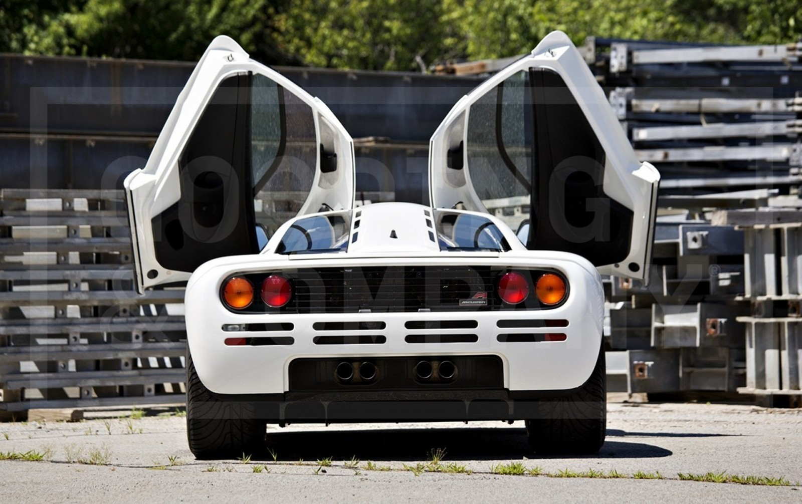 Gooding Pebble Beach 2014 Preview - 1995 McLaren F1 - The Only White F1 Ever Made = $12Mil+ 10