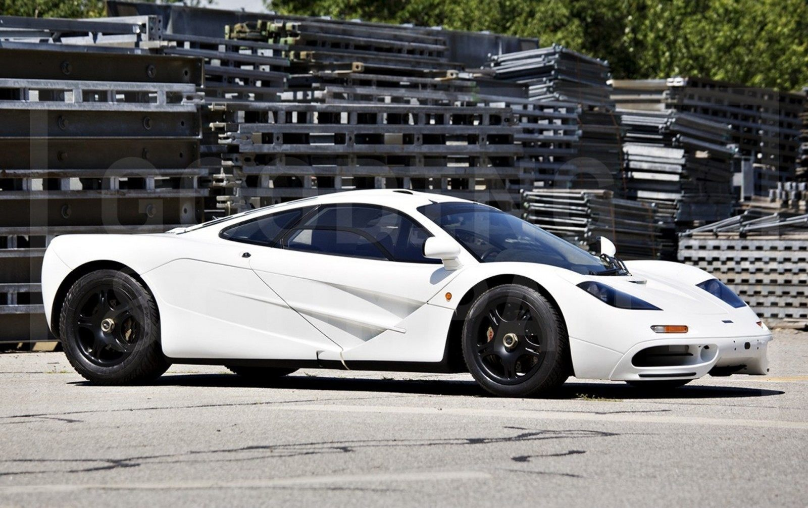 Gooding Pebble Beach 2014 Preview - 1995 McLaren F1 - The Only White F1 Ever Made = $12Mil+ 2