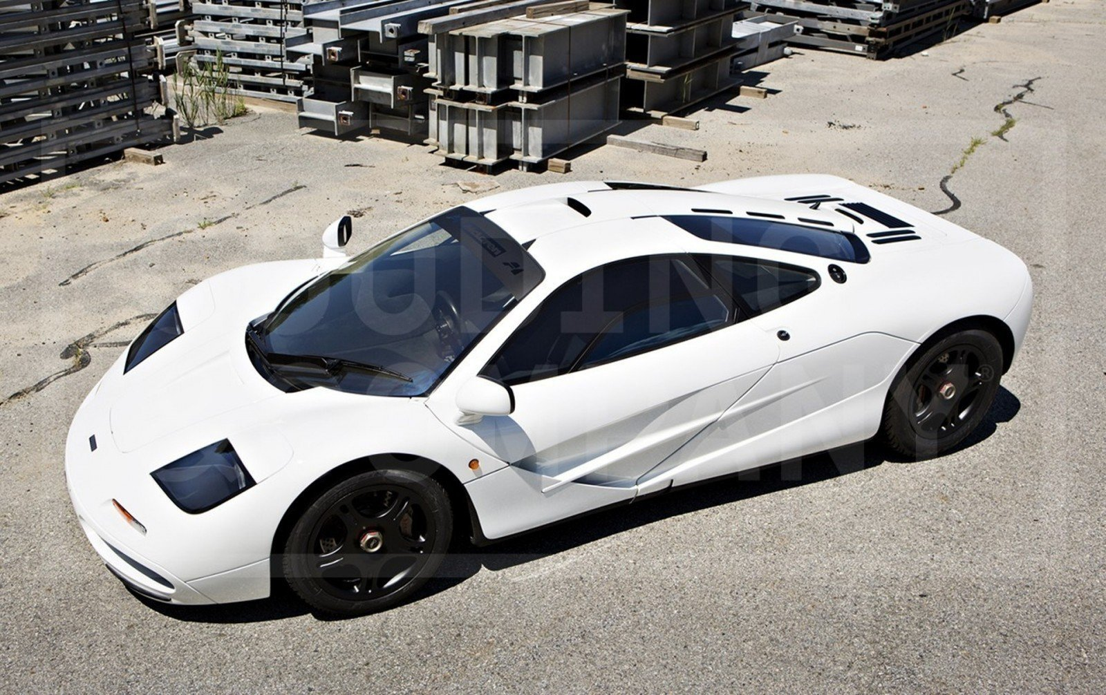 Gooding Pebble Beach 2014 Preview - 1995 McLaren F1 - The Only White F1 Ever Made = $12Mil+ 3