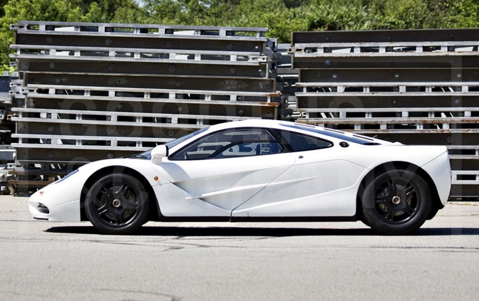 Gooding Pebble Beach 2014 Preview - 1995 McLaren F1 - The Only White F1 Ever Made = $12Mil+ 6