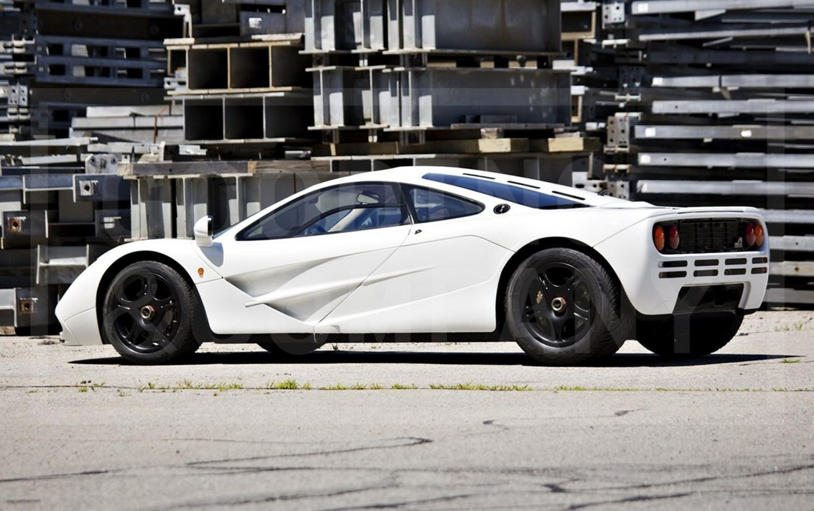 Gooding Pebble Beach 2014 Preview - 1995 McLaren F1 - The Only White F1 Ever Made = $12Mil+ 7