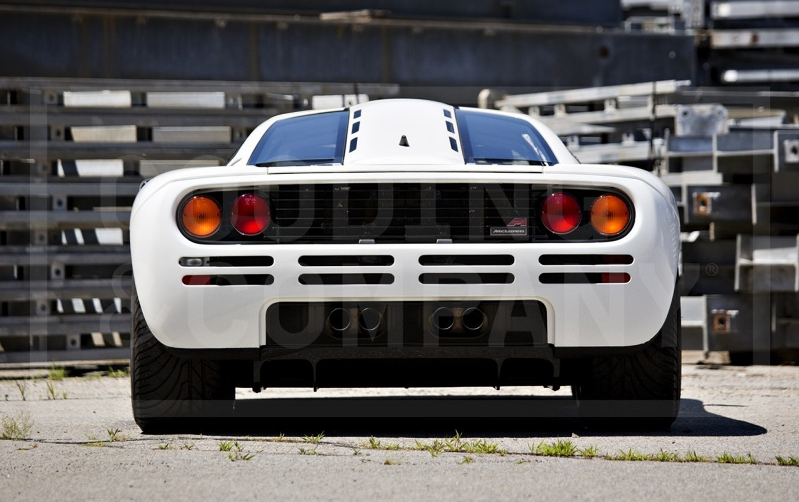 Gooding Pebble Beach 2014 Preview - 1995 McLaren F1 - The Only White F1 Ever Made = $12Mil+ 9