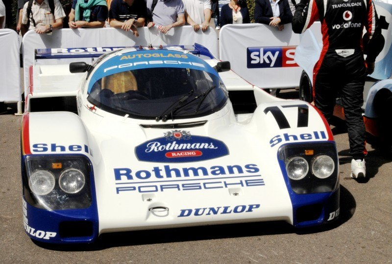 Goodwood 2014 Galleries - PORSCHE Macan Turbo, Panamera S E-Hybrid, RS Spyder, 962 and 917 2
