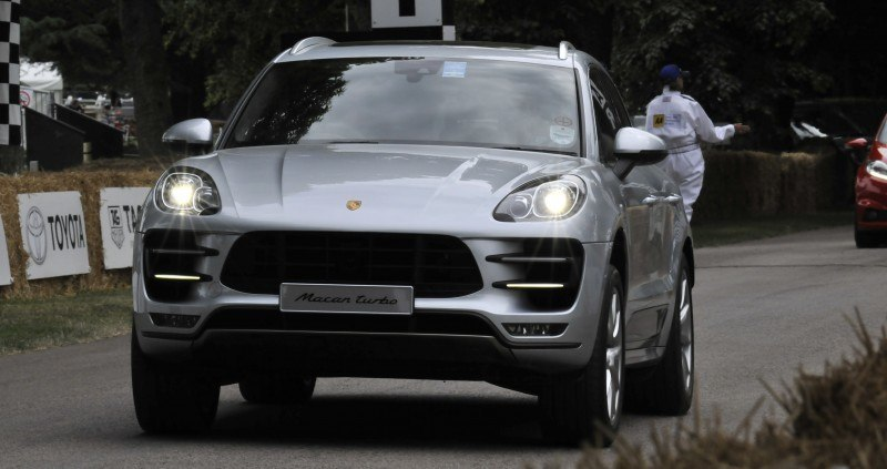 Goodwood 2014 Galleries - PORSCHE Macan Turbo, Panamera S E-Hybrid, RS Spyder, 962 and 917 28