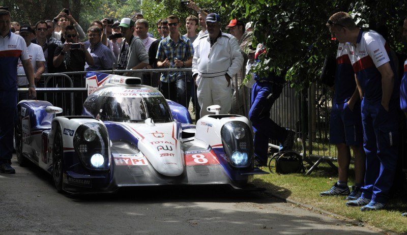 Goodwood 2014 Galleries - Toyota TS040 Hybrid, 87C, Celica Gt-Four ST205 and Hilux Overdrive Racing 5