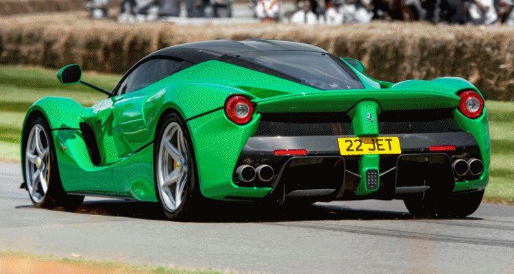 Goodwood Ferrari LaFerrari header gif1