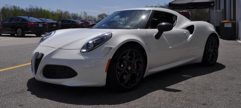 Gorgeous 2015 Alfa-Romeo 4C Revealed in Full USA Trim + New Headlights! 12