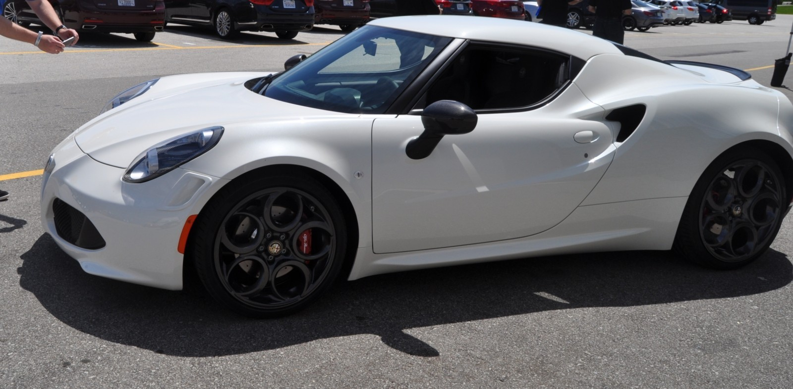 Gorgeous 2015 Alfa-Romeo 4C Revealed in Full USA Trim + New Headlights! 14