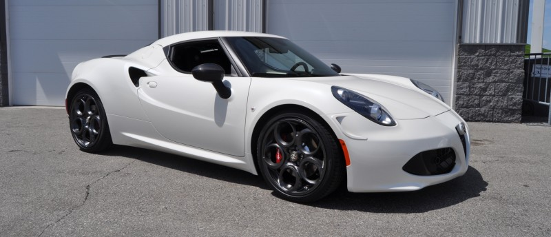 Gorgeous 2015 Alfa-Romeo 4C Revealed in Full USA Trim + New Headlights! 17
