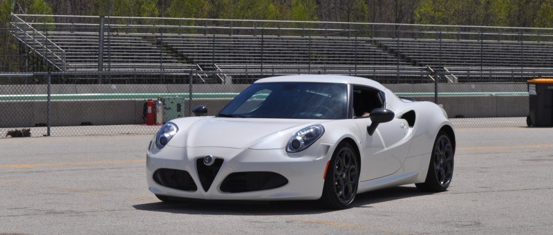 Gorgeous 2015 Alfa-Romeo 4C Revealed in Full USA Trim + New Headlights! 2