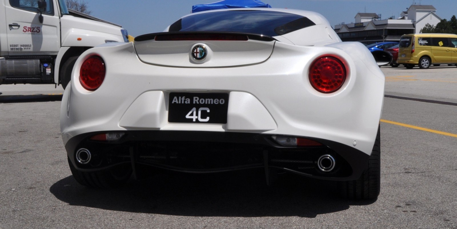 Gorgeous 2015 Alfa-Romeo 4C Revealed in Full USA Trim + New Headlights! 26