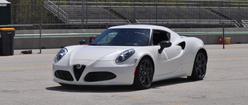 Gorgeous 2015 Alfa-Romeo 4C Revealed in Full USA Trim + New Headlights! 3