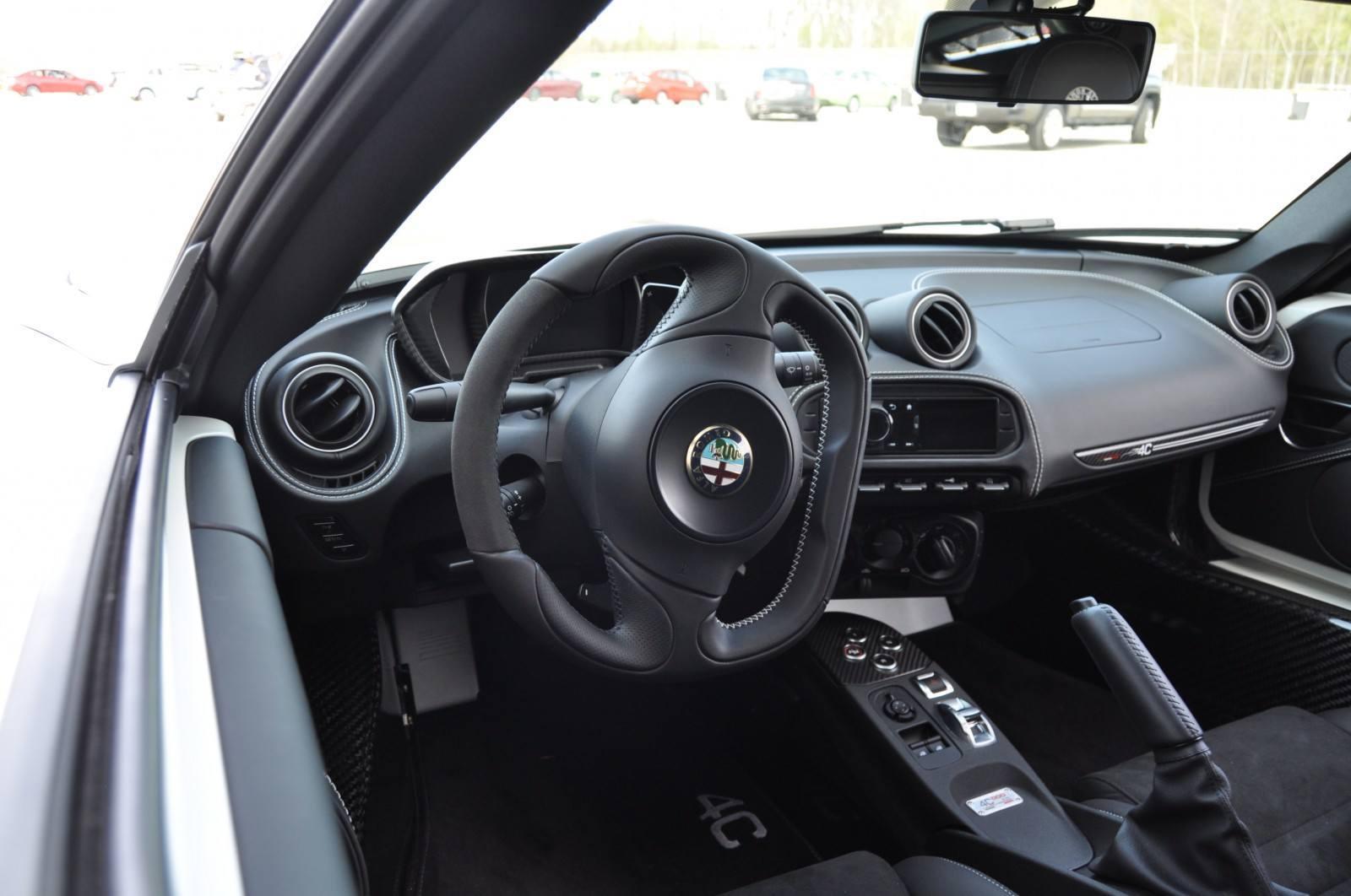Gorgeous 2015 Alfa-Romeo 4C Revealed in Full USA Trim + New Headlights! 37