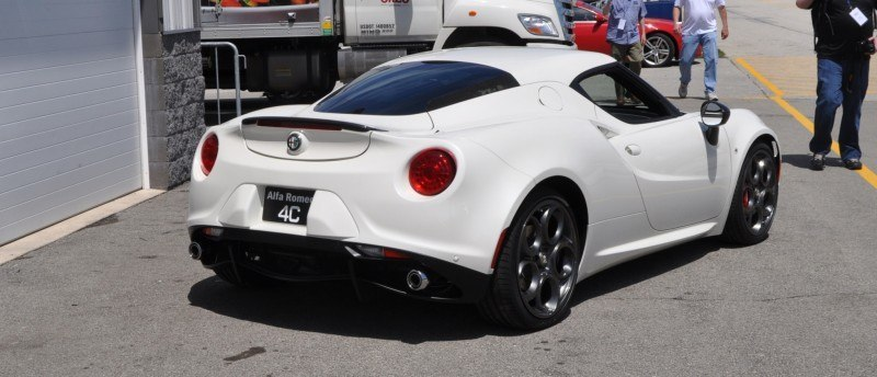 Gorgeous 2015 Alfa-Romeo 4C Revealed in Full USA Trim + New Headlights! 4