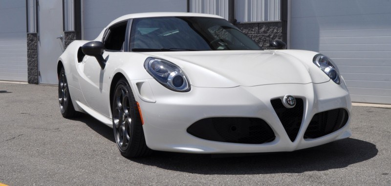 Gorgeous 2015 Alfa-Romeo 4C Revealed in Full USA Trim + New Headlights! 5