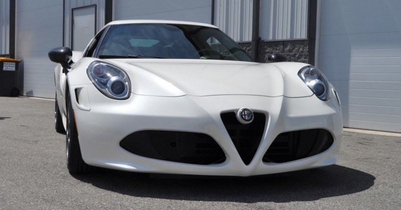Gorgeous 2015 Alfa-Romeo 4C Revealed in Full USA Trim + New Headlights! 6