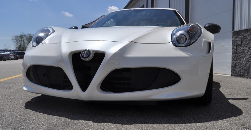 Gorgeous 2015 Alfa-Romeo 4C Revealed in Full USA Trim + New Headlights! 9