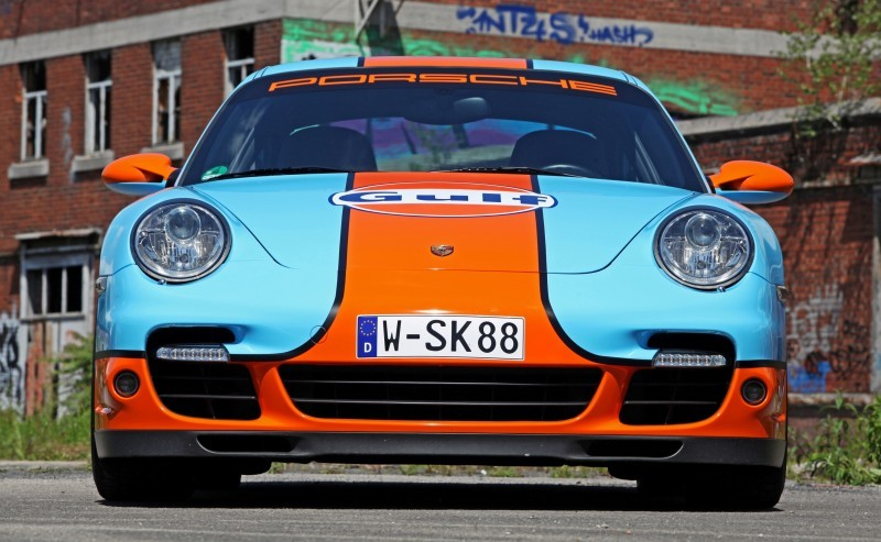 Gulf Racing Livery by CAM SHAFT for the Porsche 911 Turbo 1