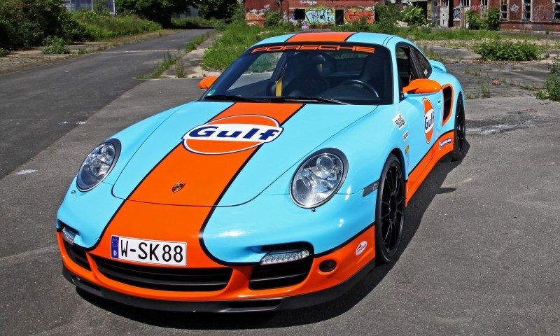Gulf Racing Livery by CAM SHAFT for the Porsche 911 Turbo 12
