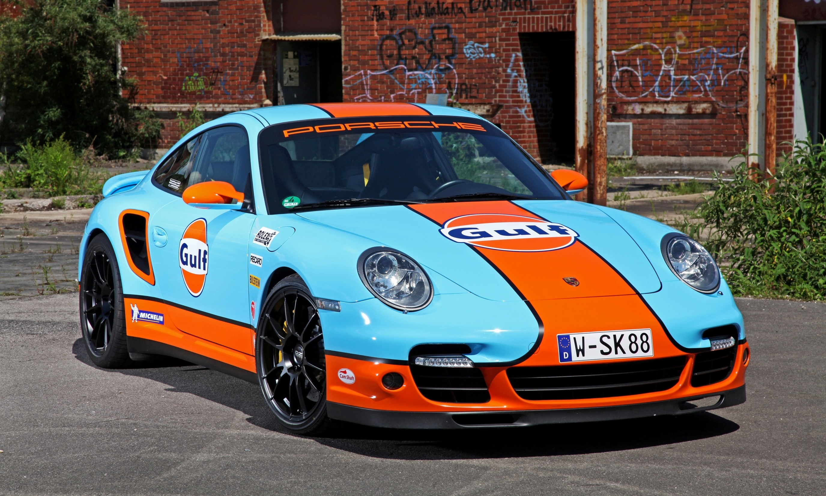 Gulf Racing Livery By Cam Shaft For The Porsche 911 Turbo 14