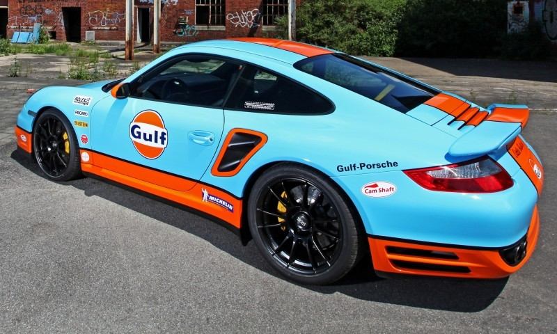 Gulf Racing Livery by CAM SHAFT for the Porsche 911 Turbo 16