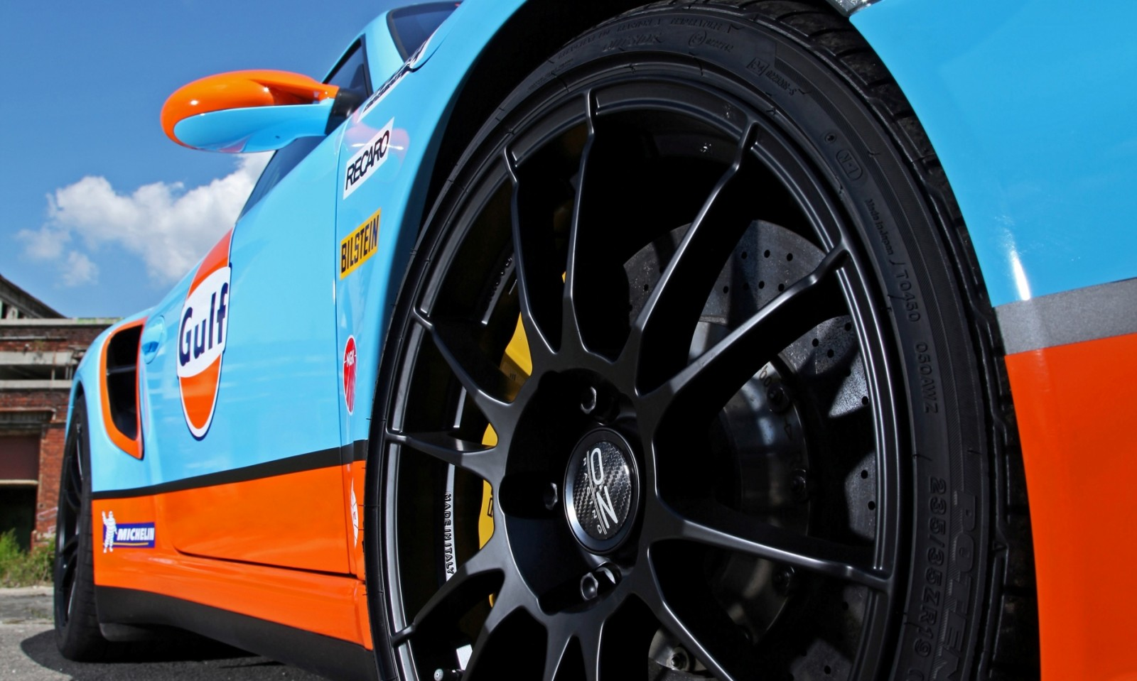 Gulf Racing Livery by CAM SHAFT for the Porsche 911 Turbo 2