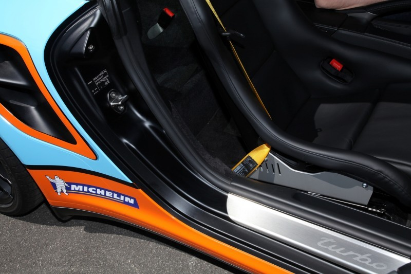 Gulf Racing Livery by CAM SHAFT for the Porsche 911 Turbo 5