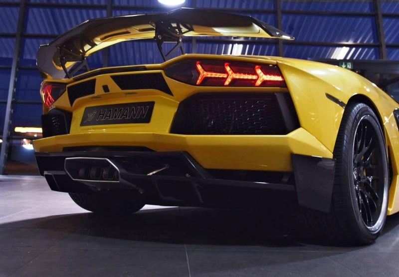 HAMANN Lamborghini Aventador Roadster 4