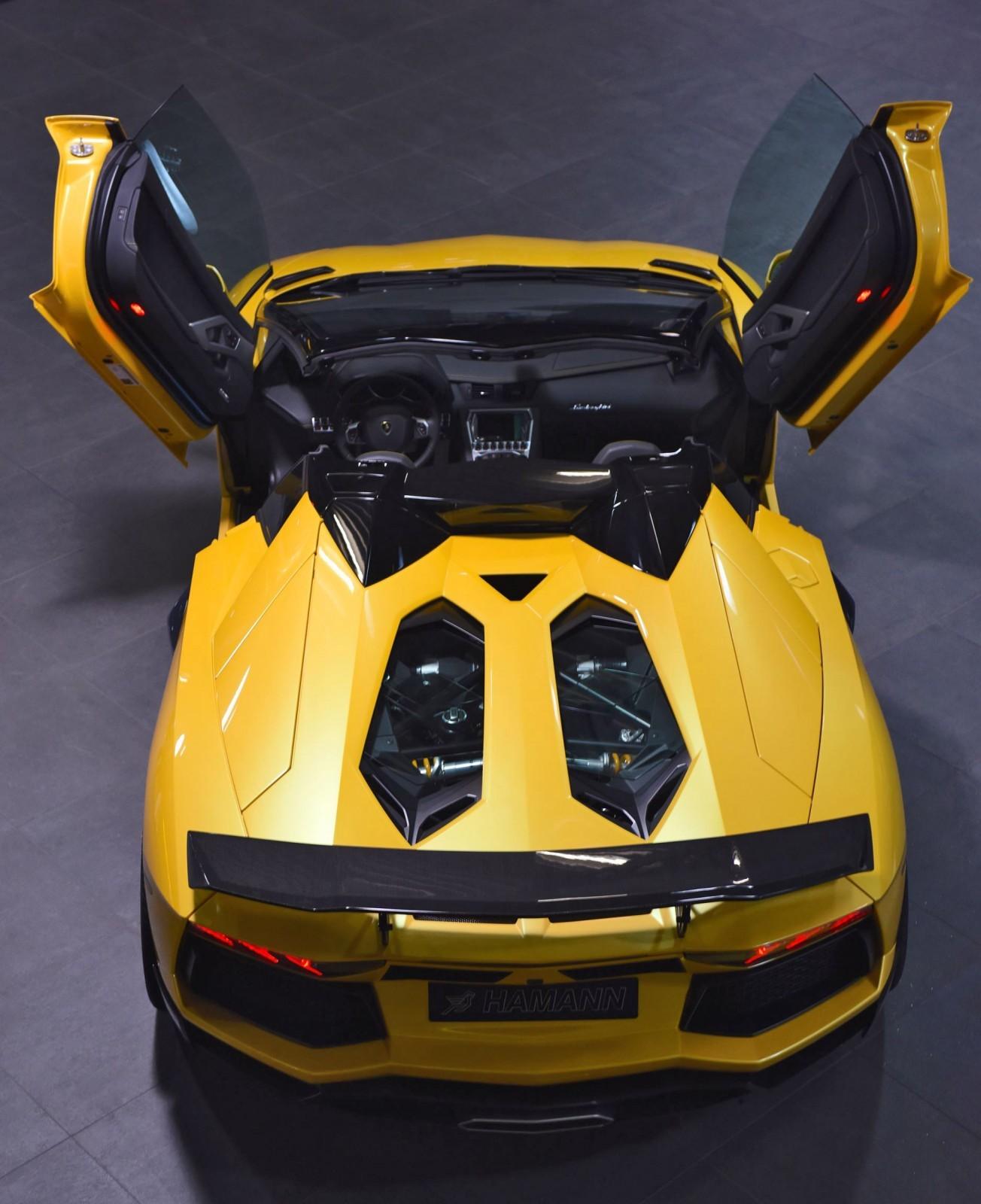 Lamborghini Aventador Roadster Yellow | www.imgkid.com ...