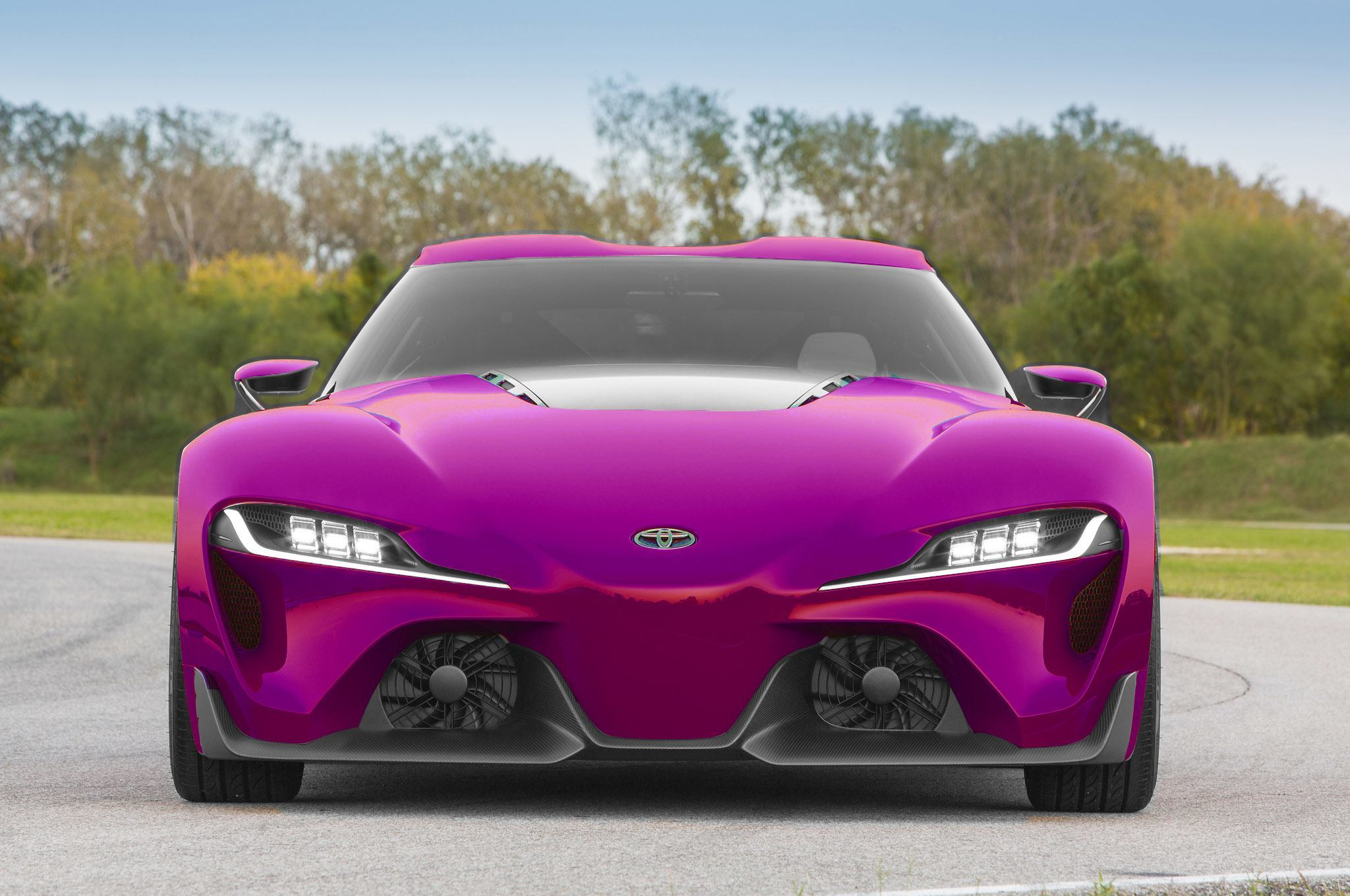 High res FT 1 Digital Colorizer 150 Shades of 2016 TOYOTA SUPRA